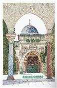 Al-Aqsa Mosque - Aida - Thea Gouverneur Cross Stitch Kit
