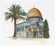 Dome of the Rock - Aida - Thea Gouverneur Cross Stitch Kit