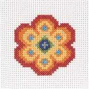 Anchor Flower Cross Stitch Kit
