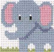 Elephant - Anchor Cross Stitch Kit