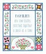 Families are Like Quilts - Janlynn Cross Stitch Kit