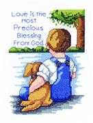 Janlynn Precious Blessing Cross Stitch Kit