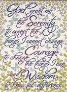 Serenity Prayer - Design Works Crafts Cross Stitch Kit