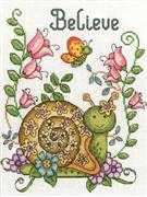 Believe - Design Works Crafts Cross Stitch Kit