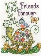 Design Works Crafts Friends Forever Cross Stitch Kit