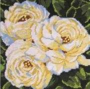 Design Works Crafts White Roses Tapestry Kit