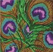 Peacock Feathers - Design Works Crafts Tapestry Kit