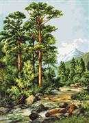 Mountain River - Luca-S Cross Stitch Kit
