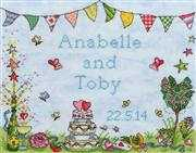 Wedding Celebration - Bothy Threads Cross Stitch Kit
