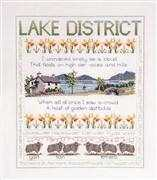 Lake District - Derwentwater Designs Cross Stitch Kit