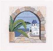 Derwentwater Designs Aegean Arch Long Stitch Kit