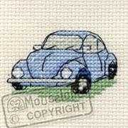 VW Beetle - Mouseloft Cross Stitch Kit