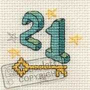 Mouseloft Twenty One Cross Stitch Kit