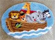 Vervaco Noah's Ark Rug Latch Hook Kit