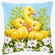 Duckling Cushion - Vervaco Cross Stitch Kit