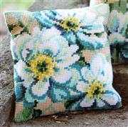Japanese Anemones Cushion II - Vervaco Cross Stitch Kit