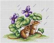 Luca-S Mice Cross Stitch Kit