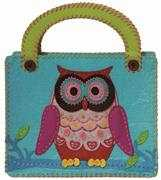 Kleiber Blue Owl Bag Craft Kit