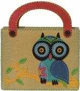 Kleiber Cream Owl Bag Craft Kit