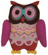 Kleiber Red Owl Toy Craft Kit