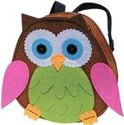 Kleiber Green/Pink Owl Backpack Craft Kit