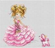 The Princess - Luca-S Cross Stitch Kit