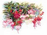 RIOLIS Fuschia Cross Stitch Kit