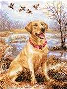 RIOLIS Labrador Cross Stitch Kit