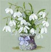 RIOLIS Snowdrops Cross Stitch Kit