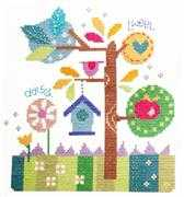 In The Garden - Stitching Shed Cross Stitch Kit