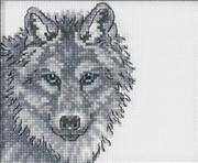 Wolf - Permin Cross Stitch Kit