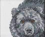 Permin Bear Cross Stitch Kit