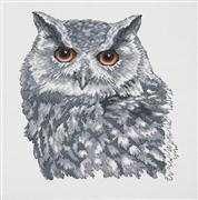 Grey Owl - Permin Cross Stitch Kit