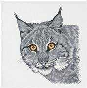 Permin Los in Grey Cross Stitch Kit