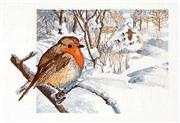 Robin - Permin Cross Stitch Kit