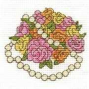 DMC Bouquet of Flowers Cross Stitch Kit