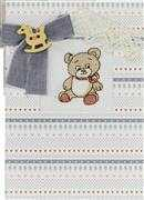 Luca-S Rocking Horse Bear Card Cross Stitch Kit