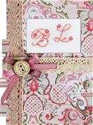 Red Monogram Card - Luca-S Cross Stitch Kit