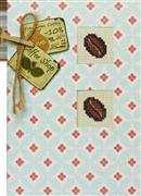 Luca-S Coffee Bean Card Cross Stitch Kit