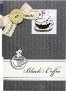 Cafe Noir Card - Luca-S Cross Stitch Kit
