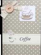 Cafe Latte Card - Luca-S Cross Stitch Kit