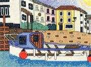 Polperro Harbour - Emma Louise Art Stitch Cross Stitch Kit