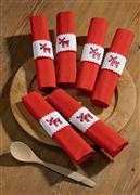 Reindeer Napkin Rings - Permin Cross Stitch Kit
