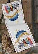Nativity Table Runner - Permin Cross Stitch Kit
