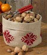 Stars Fruit Basket - Permin Cross Stitch Kit