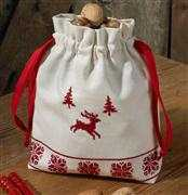 Reindeer Bag - Permin Cross Stitch Kit