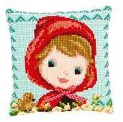 Red Riding Hood Cushion - Vervaco Cross Stitch Kit