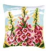 Foxgloves Cushion - Vervaco Cross Stitch Kit