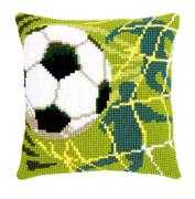 Football Cushion - Vervaco Cross Stitch Kit