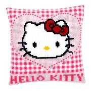Kitty in Heart Cushion - Vervaco Cross Stitch Kit